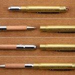 使うほどに愛着のわく真鍮 ブラスボールペン無垢