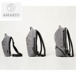 「もっと楽しく」「もっとオシャレで」「もっと快適な」ライフスタイルを!AMARIO男女兼用高機能バッグ